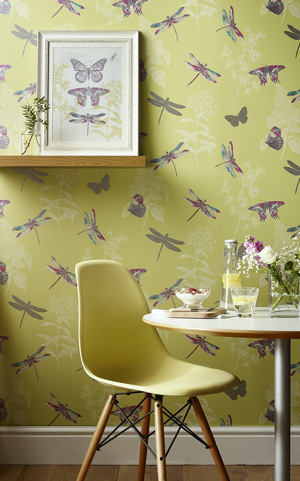 Dragonfly wallpaper design
