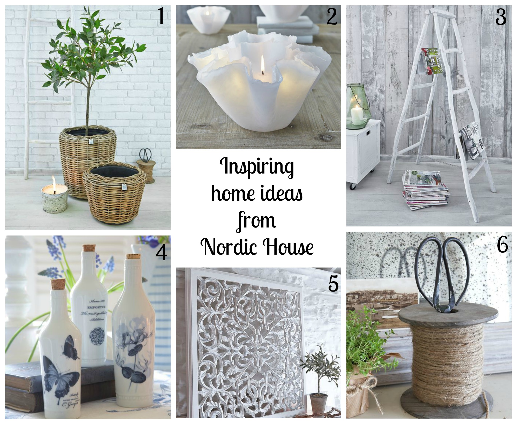 Relaxed Scandi style home ideas from Nordic House | | Cosy Home Blog