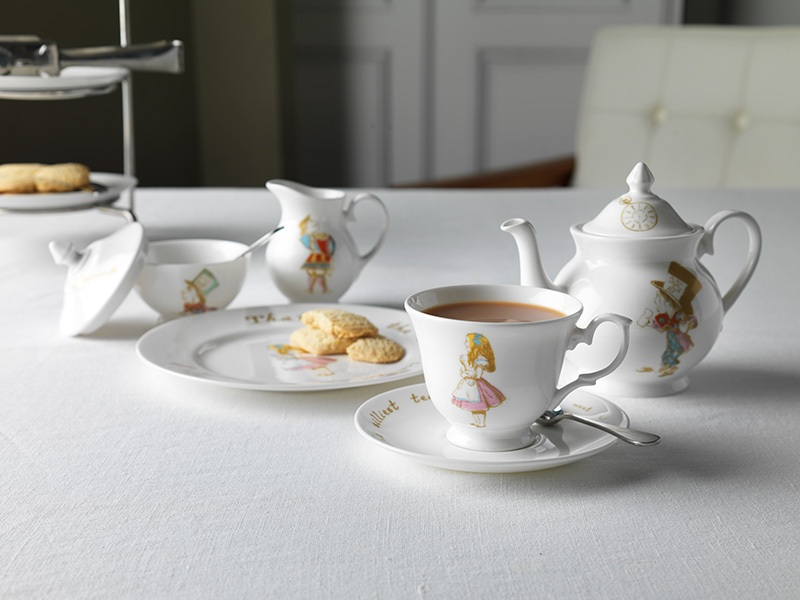 Limited edition Alice in Wonderland china from Whittard