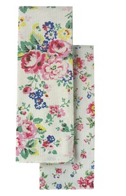 Ordinaire Spray Flowers Tea Towel Set, Cath Kidston