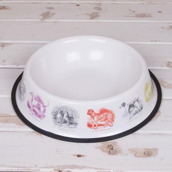 Nicely designed Fritz and Dina dog bowl
