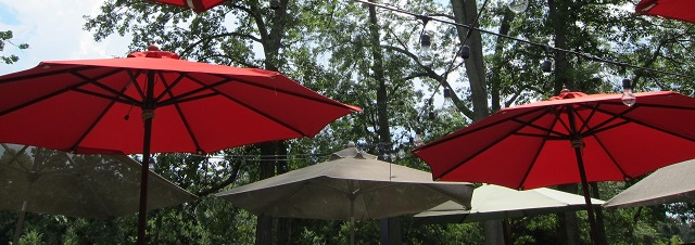 Garden shade: 10 stylish and functional outdoor parasols
