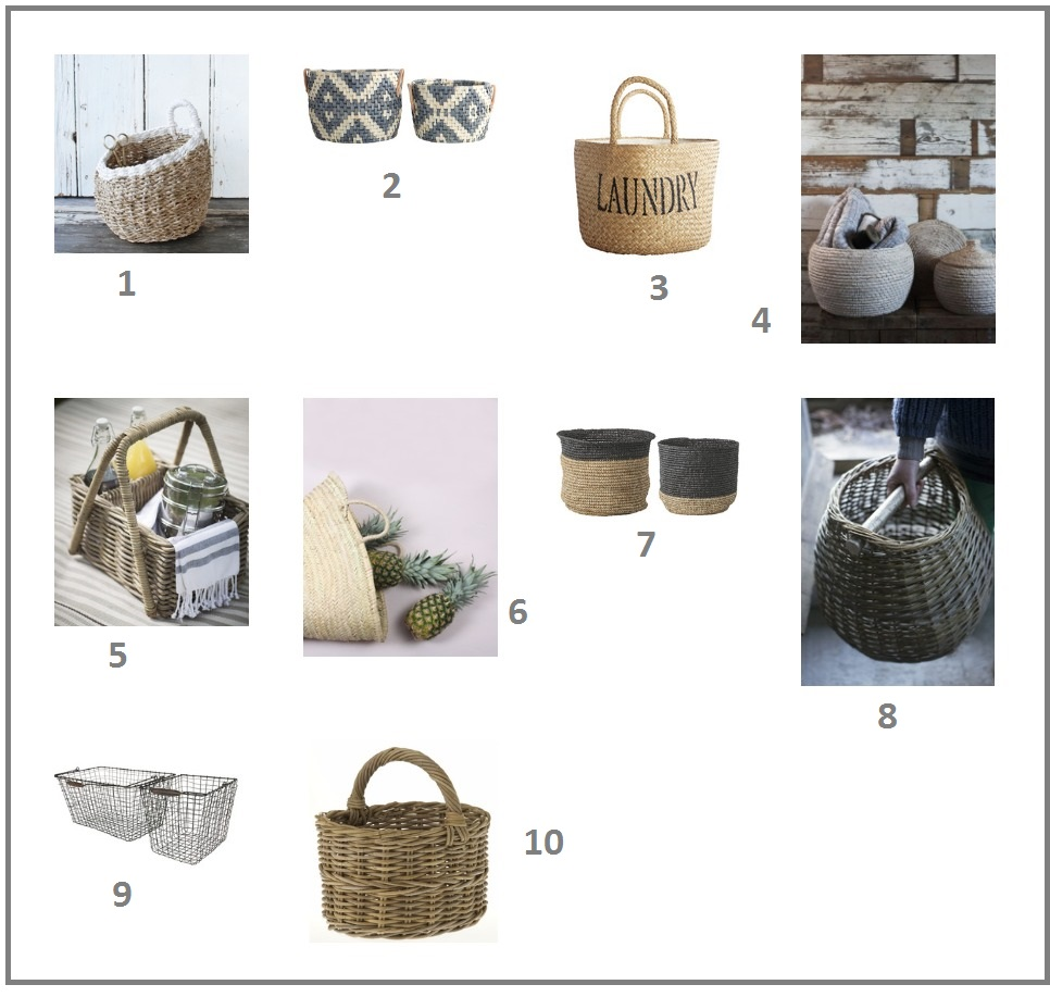 Cosy home guide to storage baskets