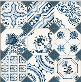 How to decorate your home with a delft blue Dutch theme