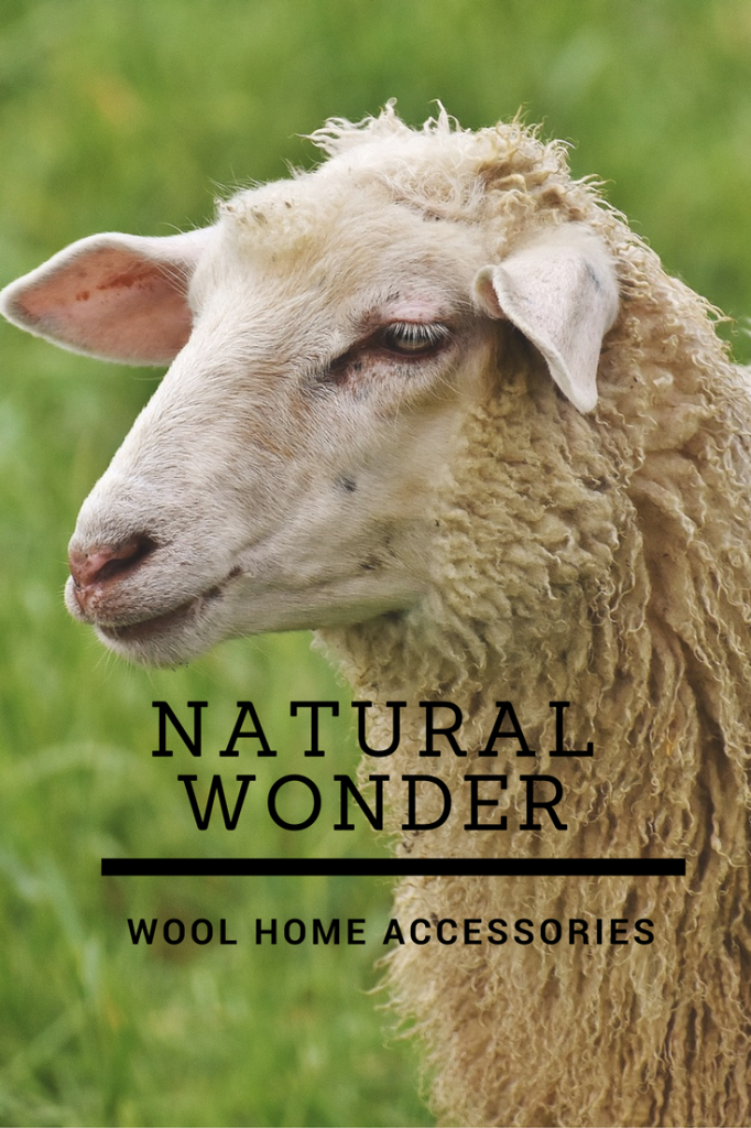 Celebrate the natural wonder of wool in your home, with super cosy woollen home accessories