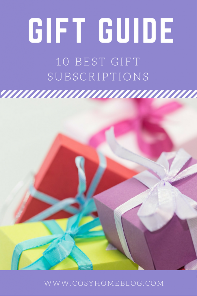 Stuck for a gift idea? How about a subscription box? There's a brilliant choice of options available. Click through for the top 10!