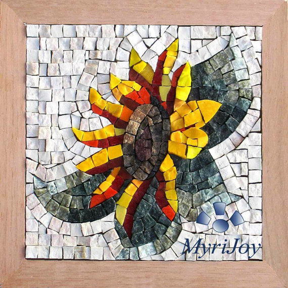 Top 10 unusual craft kits on etsy cosy home blog for Mosaic tiles for craft