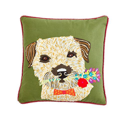 How cute is this terrier cushion?