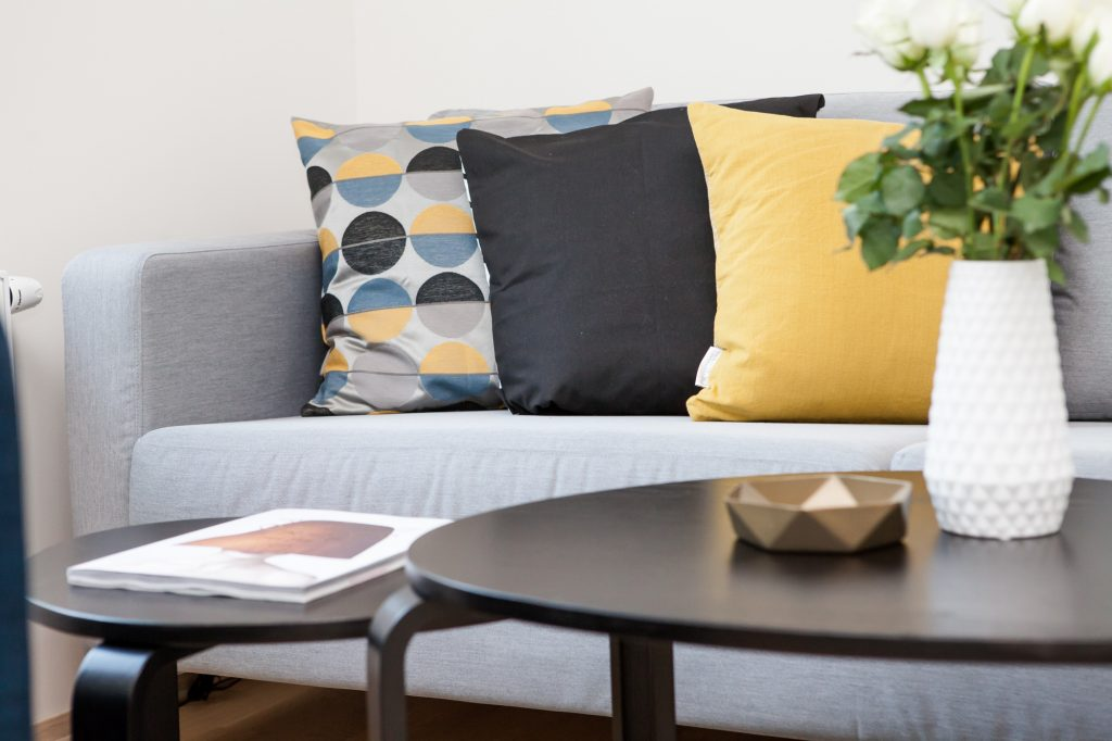 Five easy ways to improve your living room