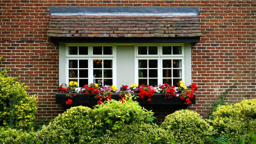 Add lights to the exterior of your home to improve security