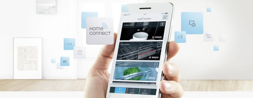 Bosch Home Connect brings smart technology to your kitchen appliances