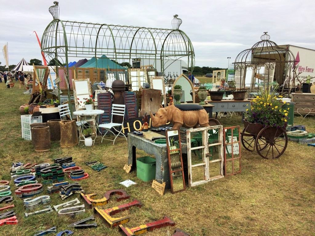 Re-use and upcycle: a day out at a salvage fair