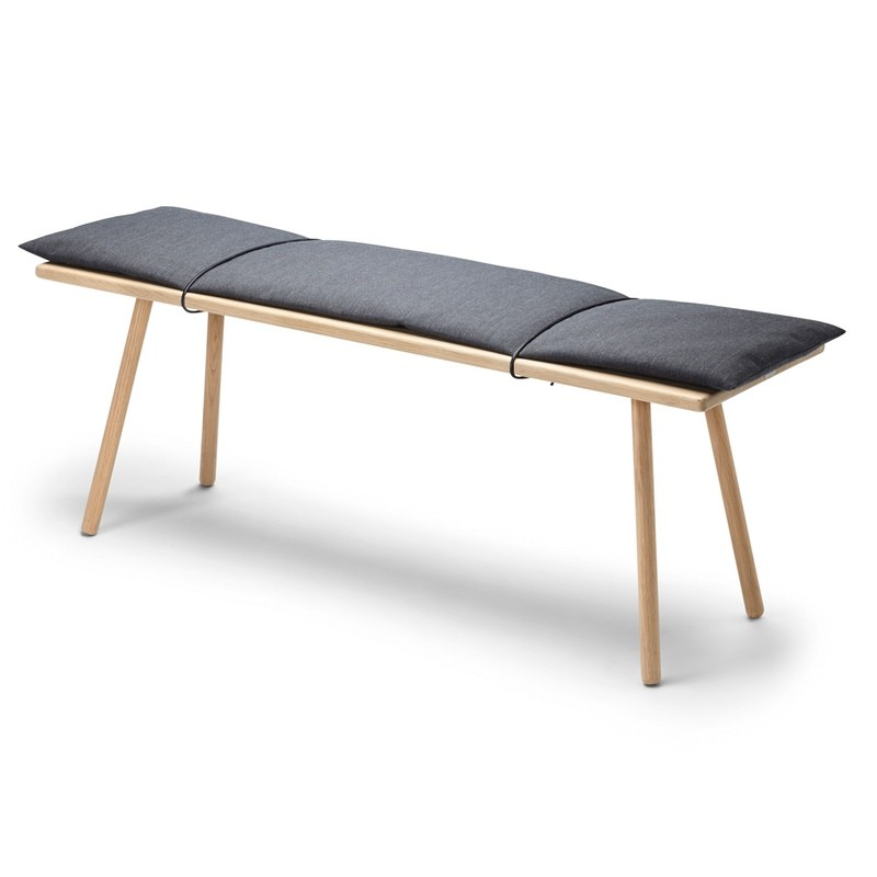This Georg bench by Skagerak is an elegant and minimal window seat option
