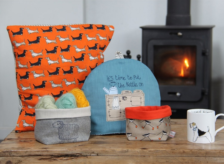 Homeware accessories handmade by Poppy Treffry
