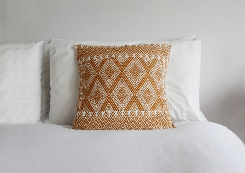 Gorgeous St Andres cushion from the Nido Collective