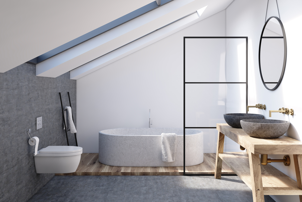 If you're thinking of having a loft conversion, will there be space for an en suite bathroom too?