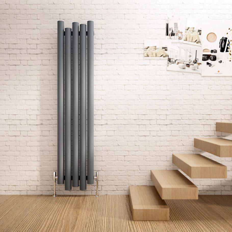 Unusual Carisa motion vertical designer radiator