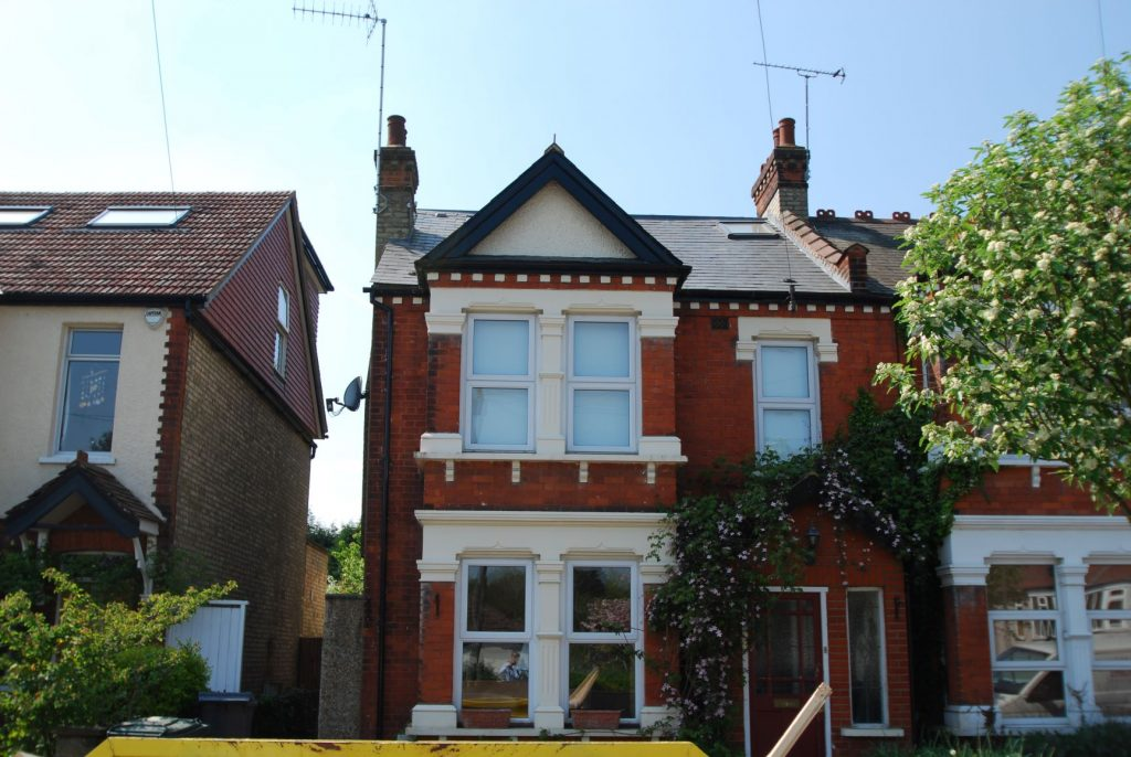 Front slope loft conversion in a period property