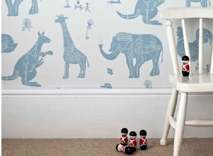Wall Street: an interview with Victoria Cramsie of PaperBoy Wallpaper