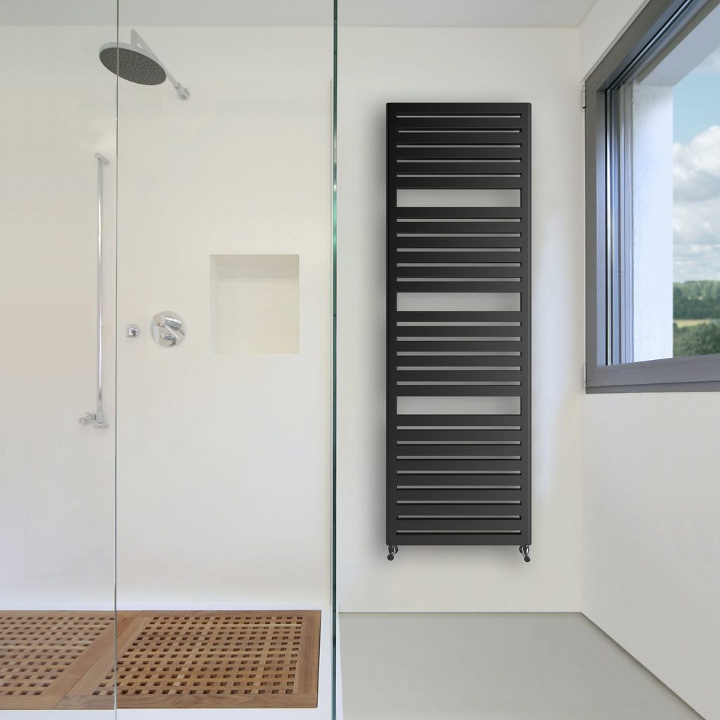 Practical Salisbury vertical radiator that doubles up as a towel rail
