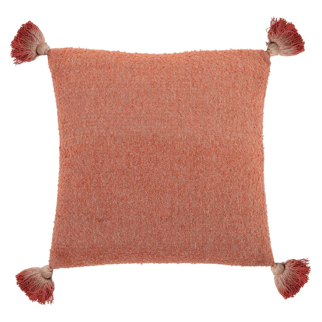 Accessorize your home with cushions in the Pantone Living Coral colour