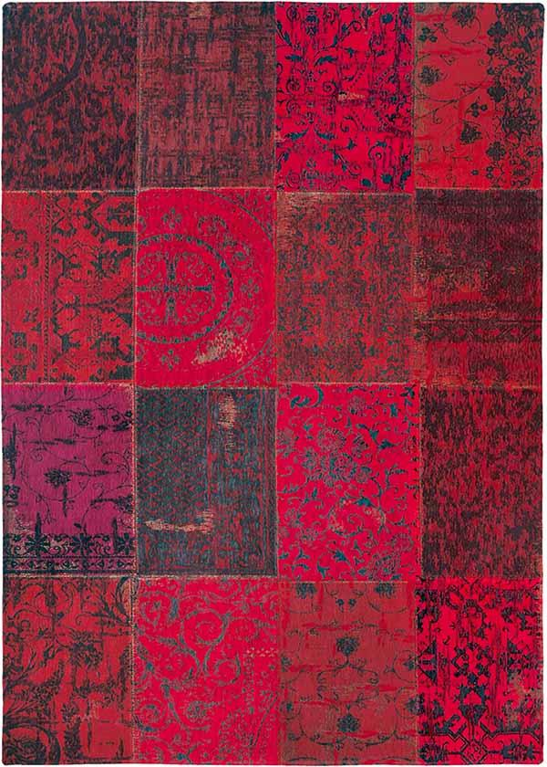 Add a splash of colour to your floor for Valentine's Day with this patchwork rug