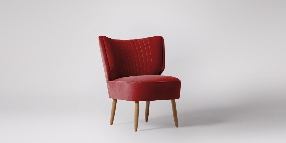 Invest in new seating in a beautiful red shade