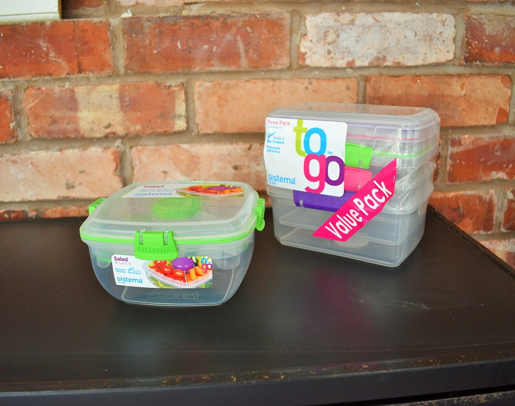 Sistema food storage solutions for picnics and lunches