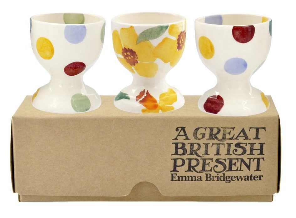 Pretty Emma Bridgewater egg cups for Easter presents