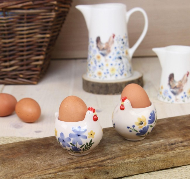 Chick design egg cups for Easter