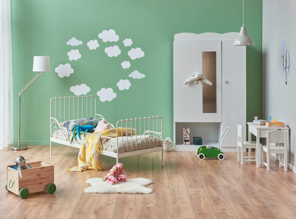 The power of pastels for kids bedroom decor