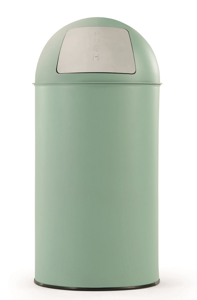 Kitchen bin in the colour neo-mint