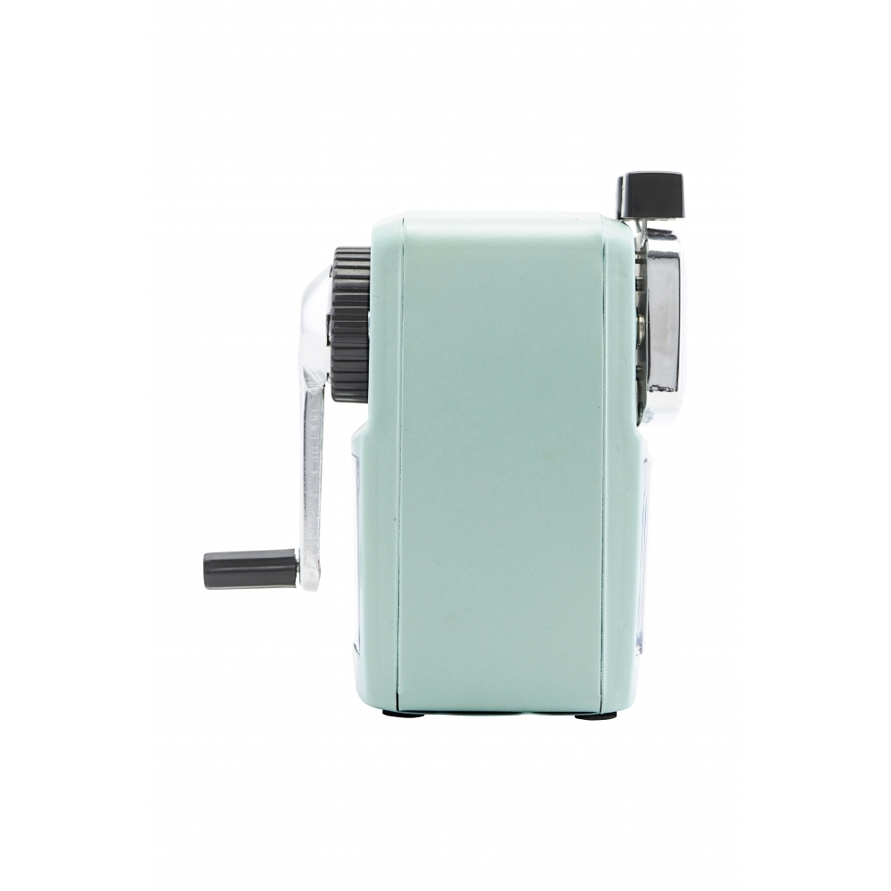 Cool desk pencil sharpener in the colour neo-mint