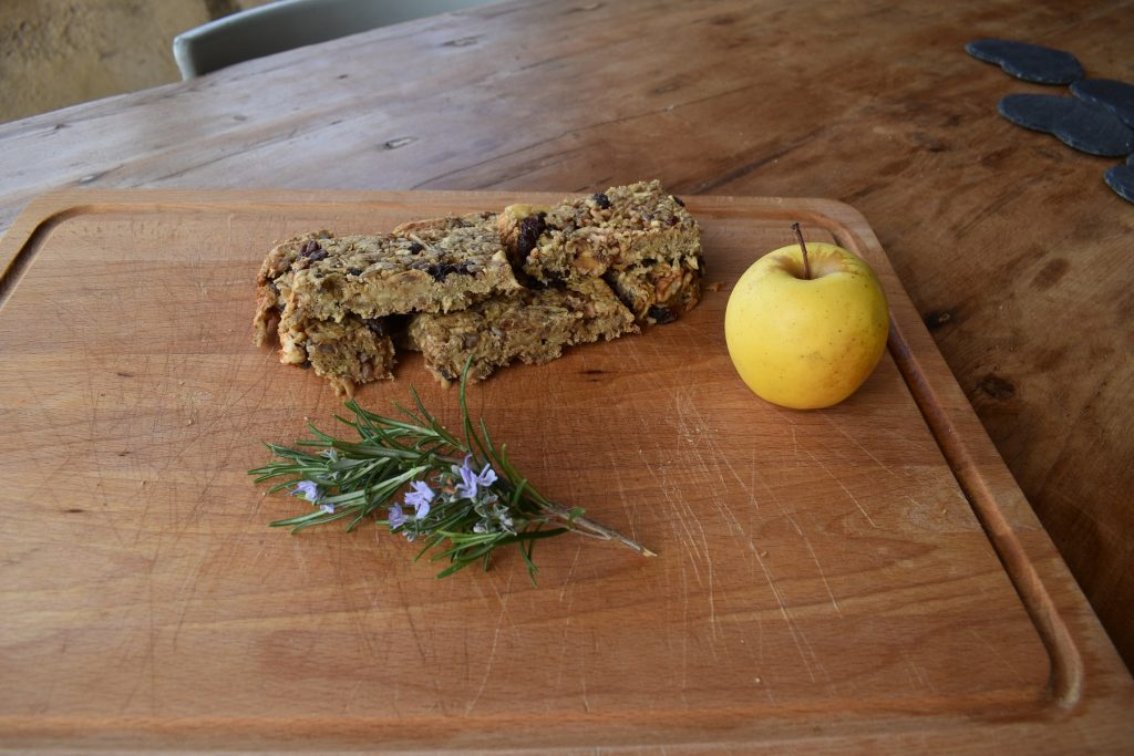 Super easy vegan fruit and seed flapjack recipe