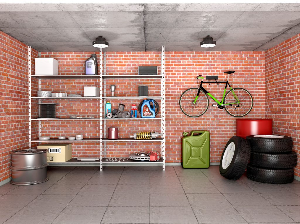 Top tips for a clutter-free garage