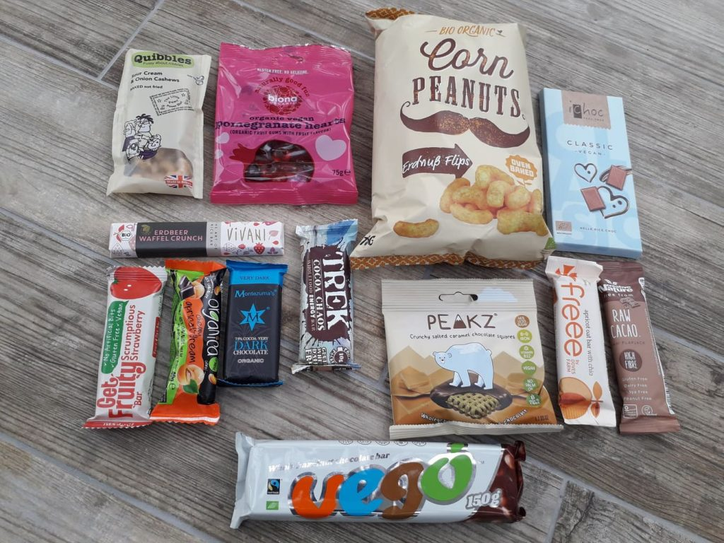 Vegan for the day: vegan gifts from Yumbles reviewed
