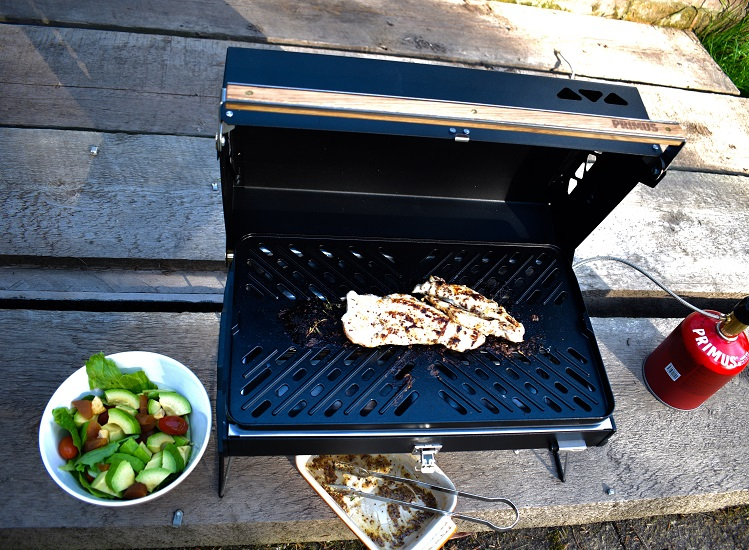 The small and portable Primus Kuchomo barbecue