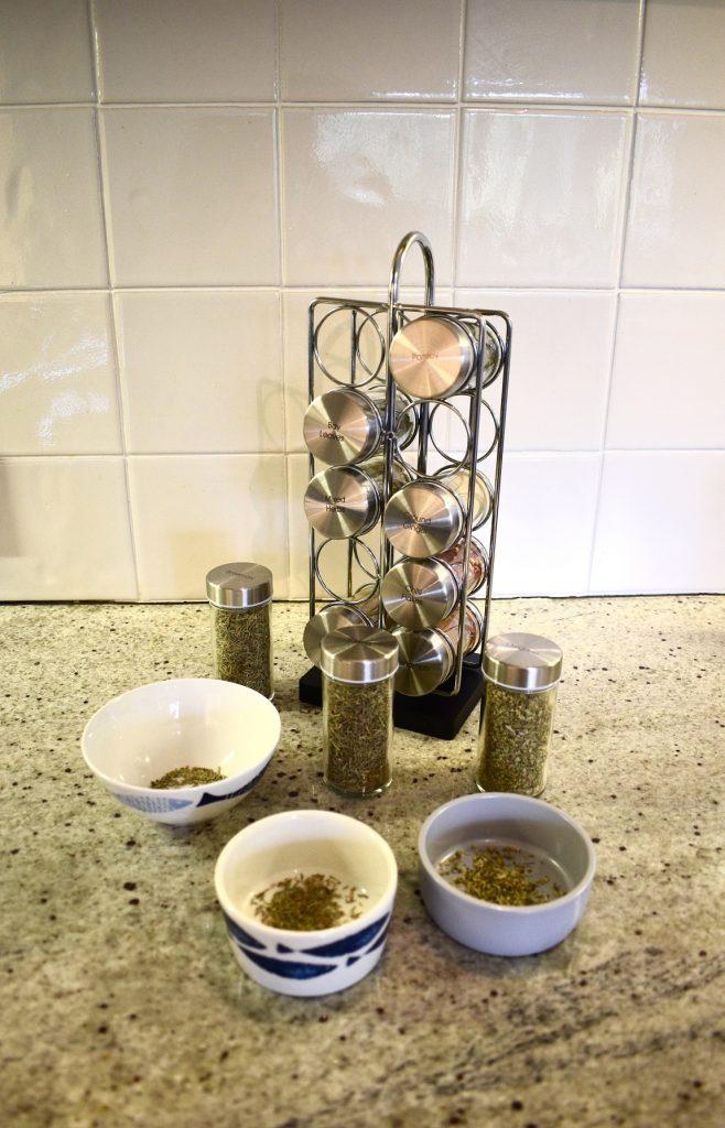 Procook 10 jar spice rack