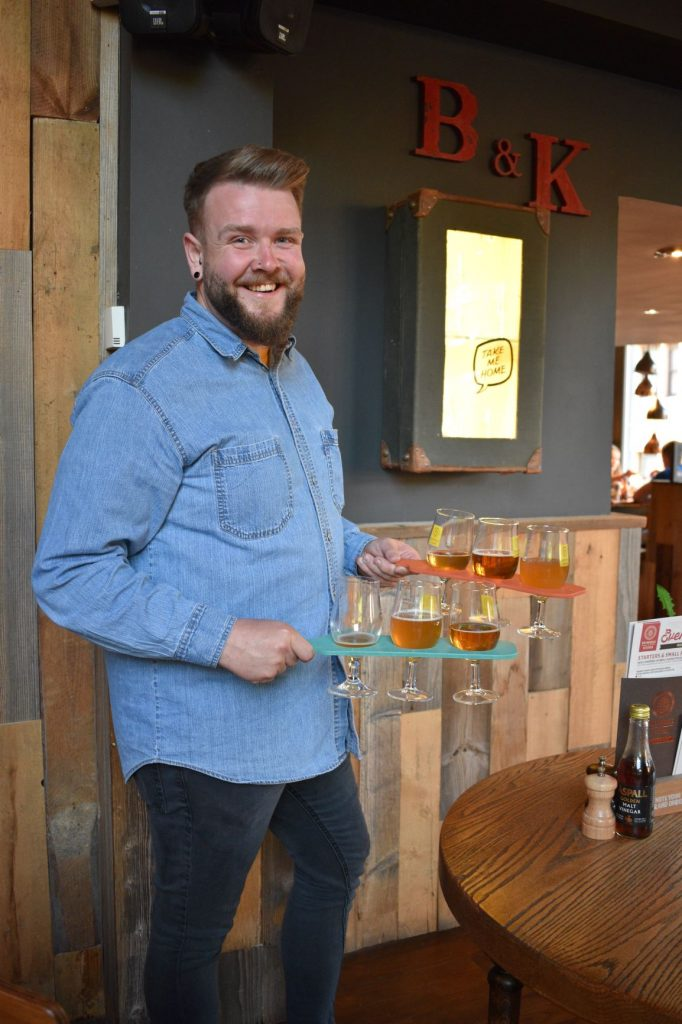 Ruaric Mackle beer and food matching masterclass
