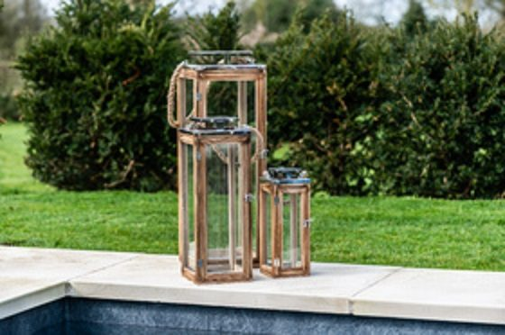 Light up your garden in style at your bonfire night party with these large lanterns
