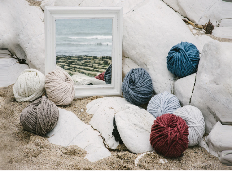 A close-knit partnership: Sue Rutherford from The Knitter's Yarn