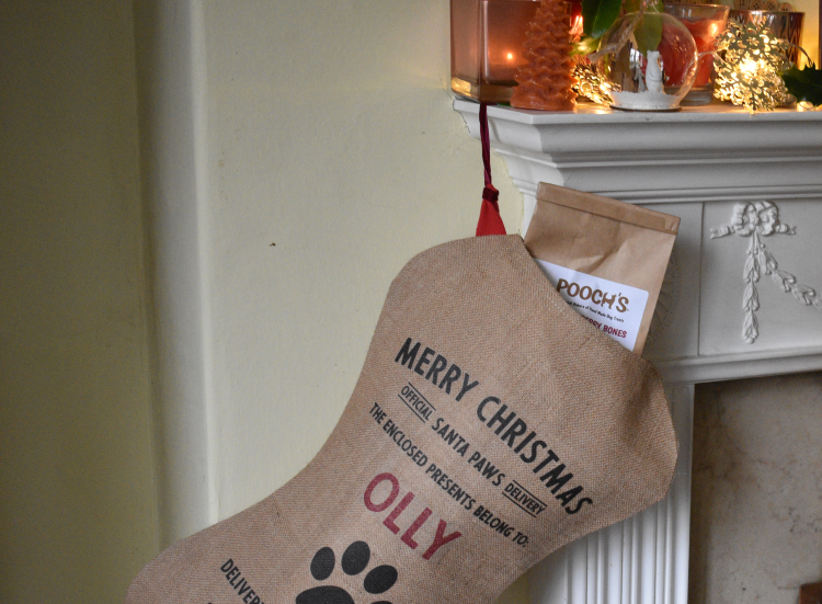 Personalised stocking from Harrow & Green