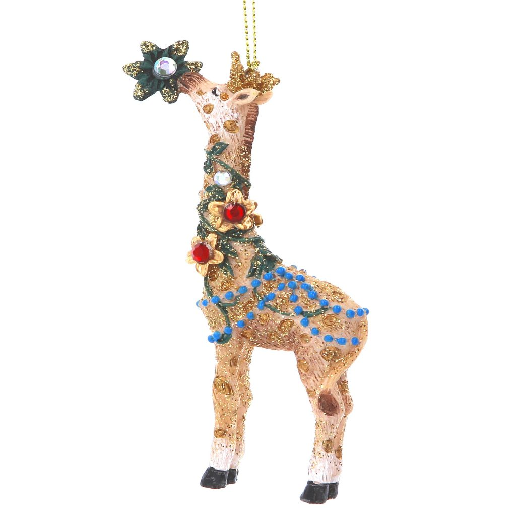 Super quirky giraffe unusual tree decorations