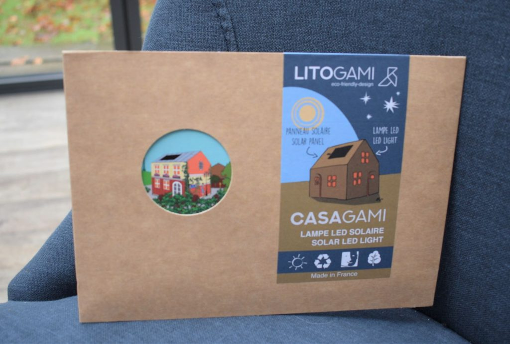 Eco-friendly solar powered gifts from Litogami