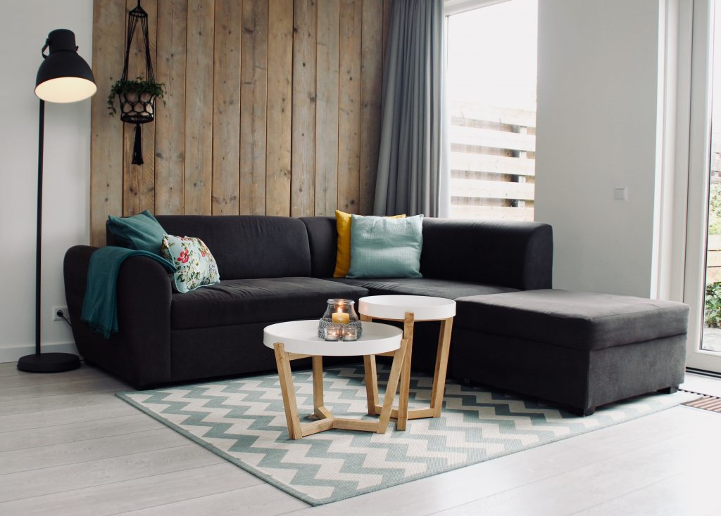 A cosy home doesn't have to be stuffed with furniture - sometimes it's helpful to go back to basics