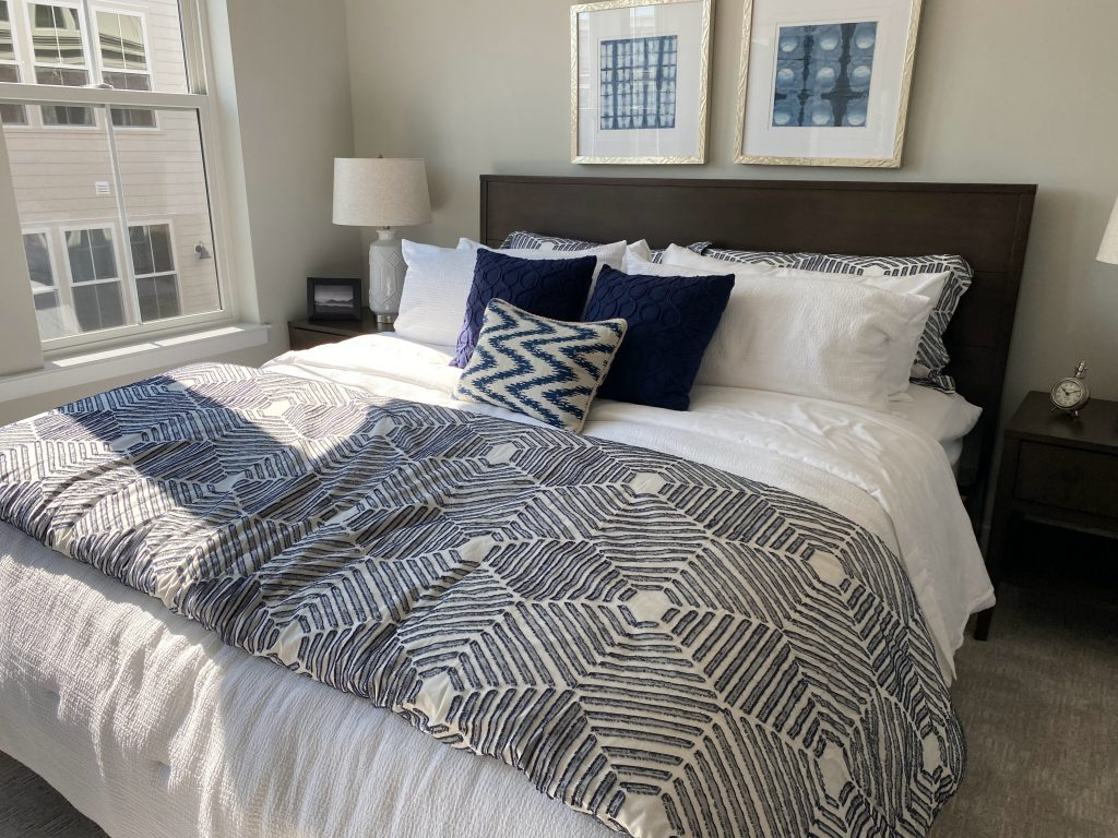Use blankets to make the rooms in your home cosier. Blankets look great displayed draped across the sofa or bed when not in use