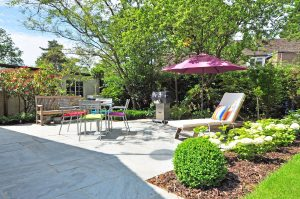 Make your outdoor space perfect for using in all weathers by creating areas of shade