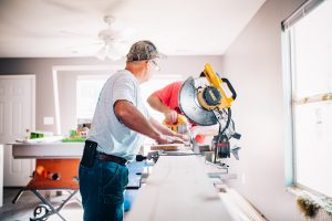 It's always worth considering hiring trained professionals for home renovation producs