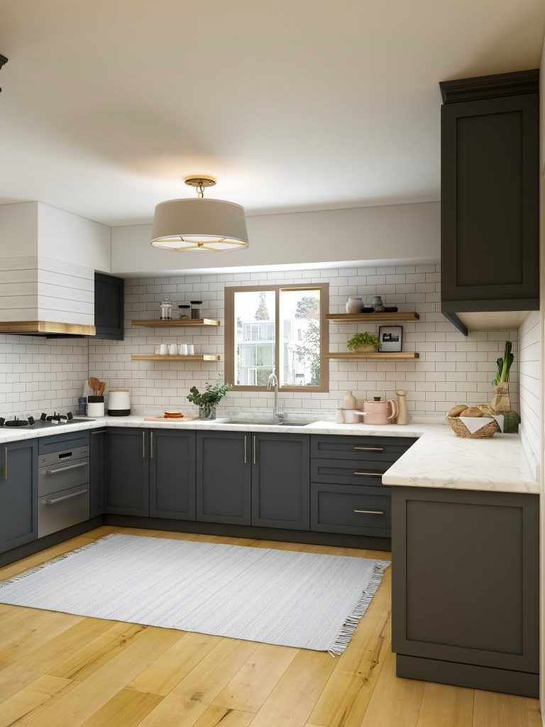 Gorgeous kitchen in a country cottage