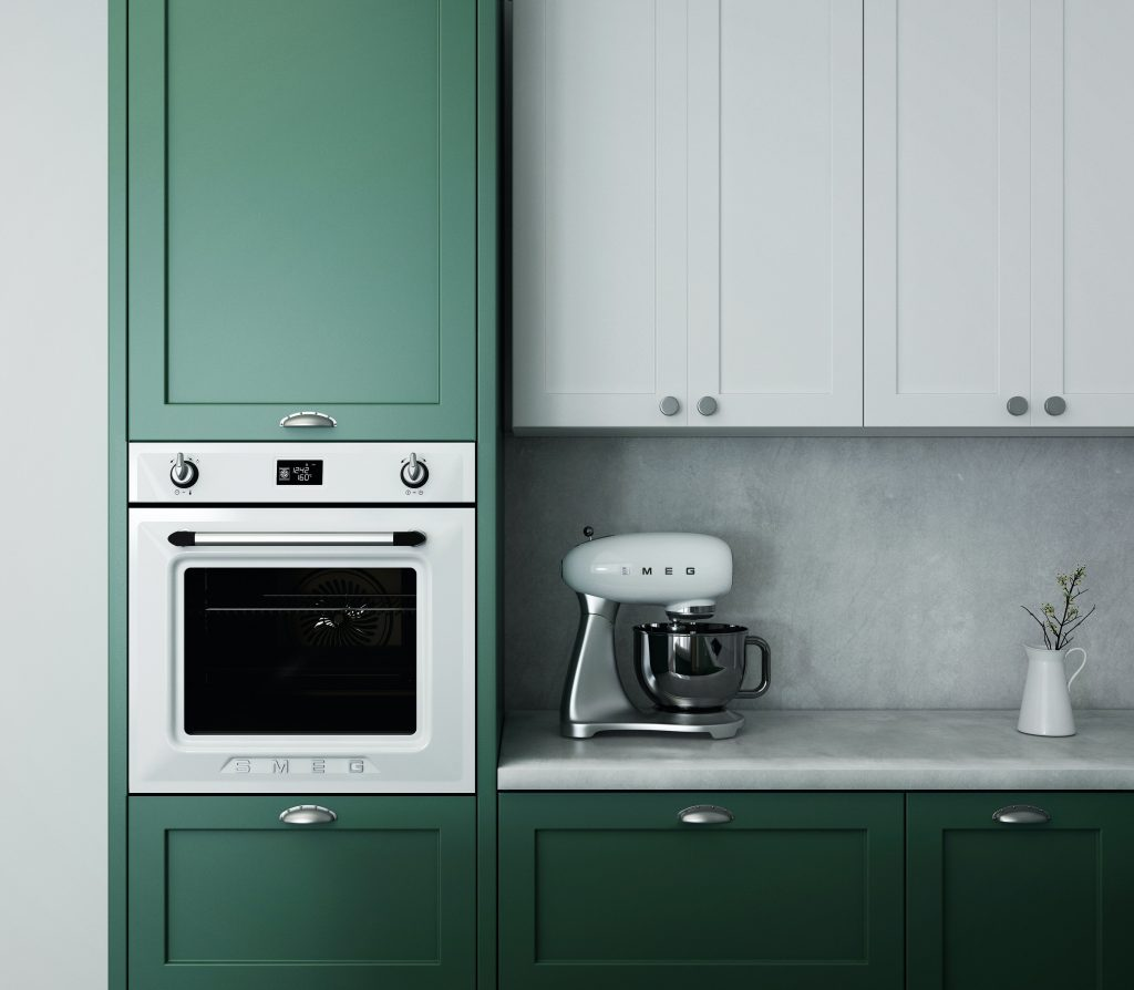 A coat of paint can help brighten up a tired kitchen